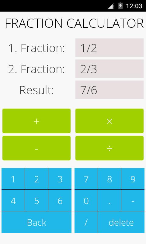 Fracttions Math Pro Gratis statt 0,60€ (Android)