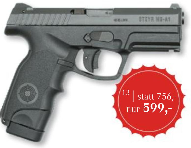 Steyr Mannlicher M-A1 (9x19) um 599 € - Bestpreis