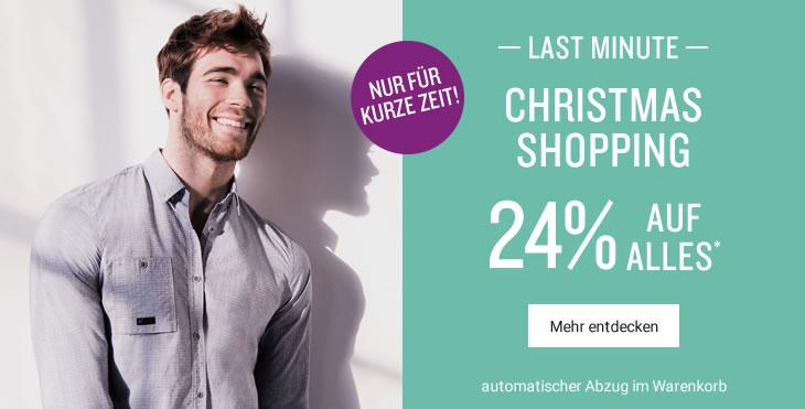 Tom Tailor: 24% Rabatt auf alles - nur bis zum 19. Dezember