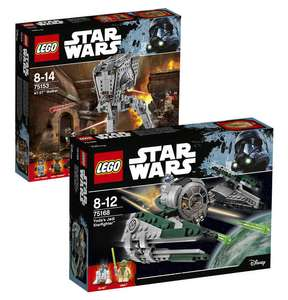 (Galeria Kaufhof DE) Lego Bundle: Yodas Jedi Starfighter & AT-ST Walker