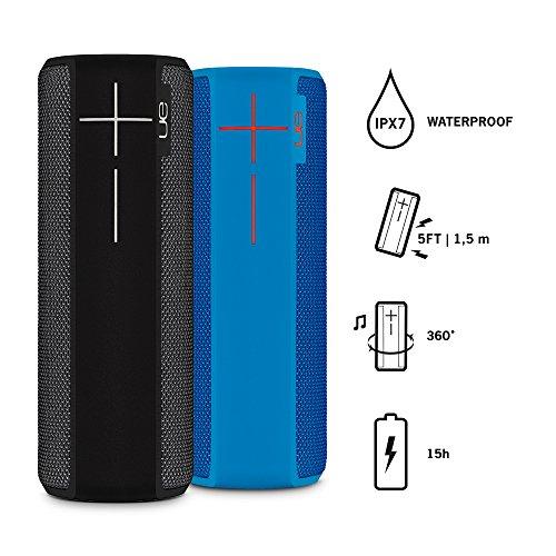 Amazon.de: 2 Mal Ultimate Ears BOOM 2 (Blau und Schwarz) für 170,42€ (Stückpreis: 85€)