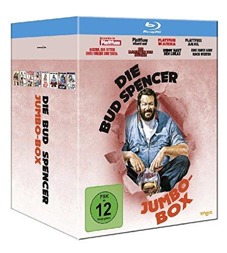 [Amazon Prime] Tagesangebot: Die Blu Ray Bud Spencer Jumbo Box mit 8 Filmen(3,78€ / Film)