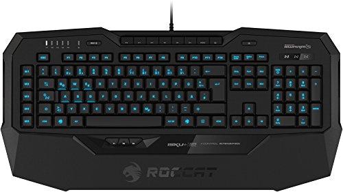 ROCCAT Isku+ Force FX RGB Gaming Tastatur (DE-Layout, drucksensitiver Tastenzone, RGB-Tastenbeleuchtung)