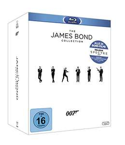 [Amazon] Tagesangebot: James Bond Collection 2016 Blu-ray für 70,56€ oder als DVD für 60,47€