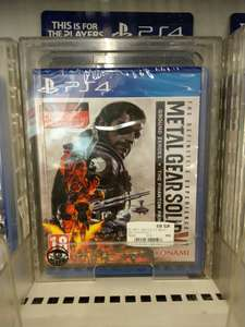 Ps4 Metal Gear Solid (Lokal)