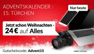 "24€ auf refurbished Ware bei asgoodasnew.at mit Code ""Advent15"""