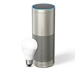 Echo Plus inklusive Philips Hue White E27 LED Lampe