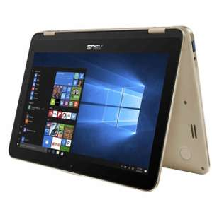 [Notebooksbilliger] Asus VivoBook Flip TP203NAH-BP044T / 2in1 Convertible / Intel Dual-Core N3350 / 4GB RAM / 1000GB / Windows 10 / gold