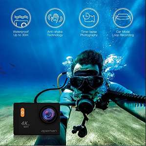 APEMAN Action Kamera WIFI sports cam 4K camera 20MP Ultra Full HD
