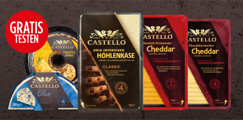 *Gratis Testen* - Castello-Käse