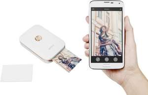 (CONRAD) HP Sprocket Fotodrucker um 74.99 €