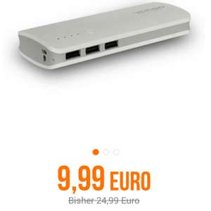 [Notebooksbilliger] Verico Pure 10 PowerBank 10.000 mAh, weiß