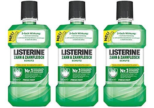 3x Listerine Cool Mint Mundspülung um 7,45 €