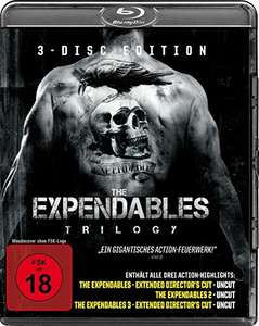 The Expendables Trilogy (Blu Ray oder DVD)