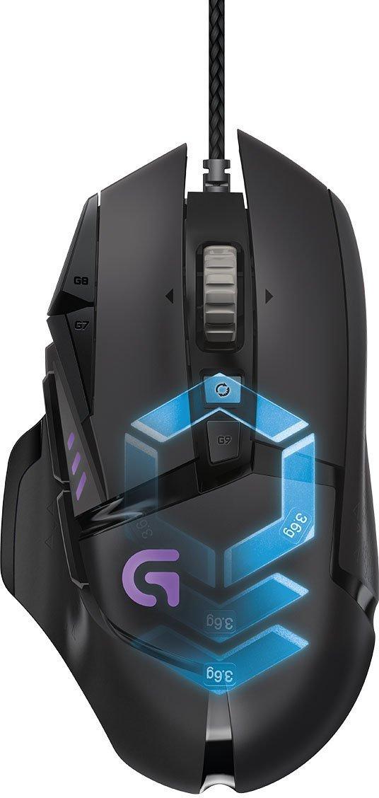 [Amazon.de] Logitech G502 Gaming-Maus Proteus Spectrum (mit RBG-Anpassung und 11 programmierbaren Tasten)