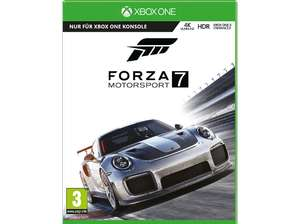 Forza 7 im Angebot bei Media Markt & Amazon. NEU: Ultimate um € 50,41!
