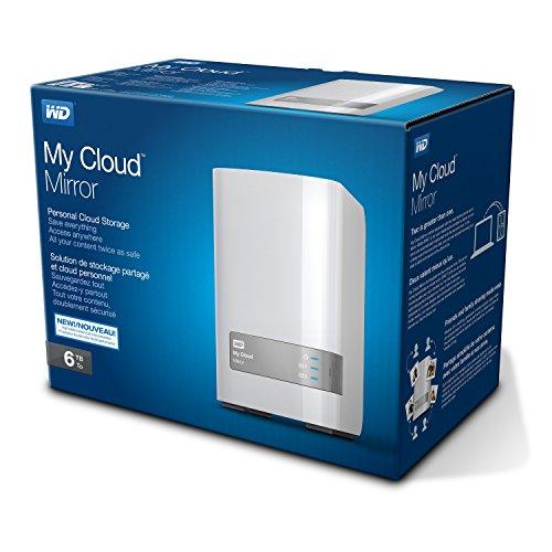 Western Digital My Cloud Mirror Gen 2 - 6 TB Persönlicher Cloud Speicher für 222€