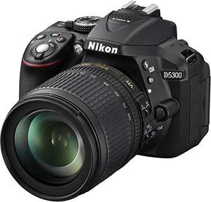 AMAZON: Nikon D5300 Kit inkl. AF-S DX 18-105 VR