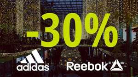 -30% auf Adidas und Reebok
