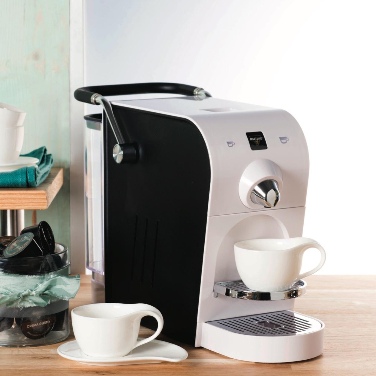 [Hofer] MARTELLO CAFE  Kapselmaschine Chic (10 Kapseln €1,99)