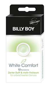 [Geiler Preisjäger] Billy Boy White Comfort - 12er Pack Kondome