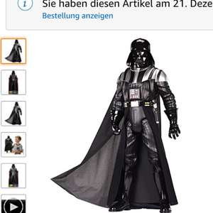 Amazon: Star Wars Darth Vader Figur 50cm