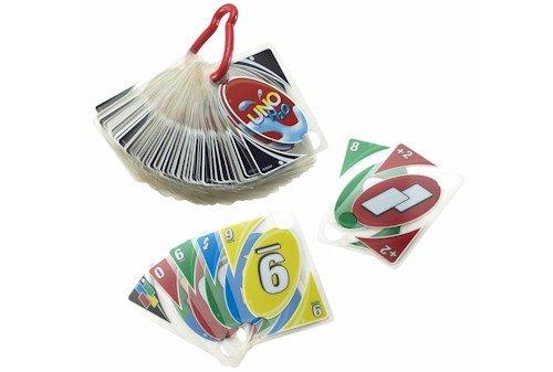 Wasserfeste UNO-Spielkarten H2O To Go für 8,99€ & Mattel W2087 Uno-Kartenspiel für 5,99€ [Amazon Prime]