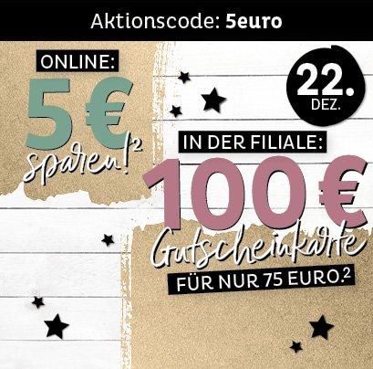 Depot: 100€Gutscheinkarte für 75€ - nur heute in den Filialen