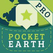 Pocket Earth PRO Offline Maps & Travel Guides kostenlos statt 5,49€ [iOS]
