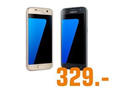 [Saturn vor Ort] 27.12. 6-9 Uhr Samsung Galaxy S7 Schwarz & Gold zum Bestpreis