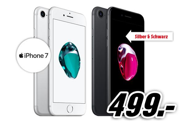 [Mediamarkt vor Ort] 27.12. 6-9 Uhr iPhone 7 32GB um 499€