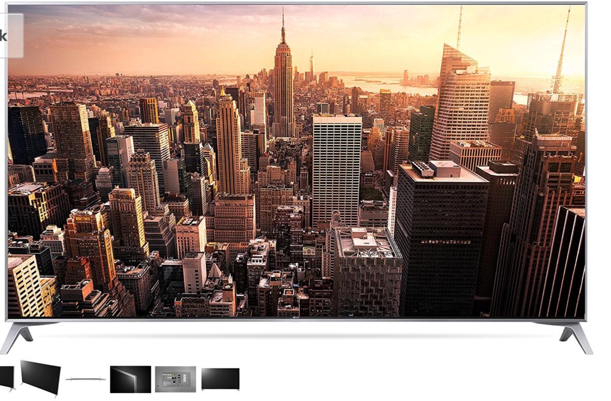 LG 55SJ800V 139 cm (55 Zoll) Fernseher