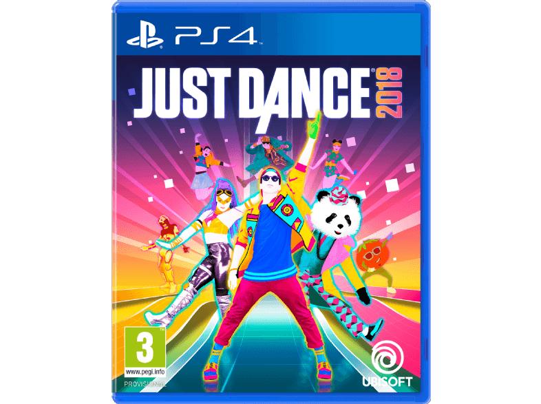 Just Dance 2018 (versch. Konsolen) um 34,99 € – versandkostenfrei