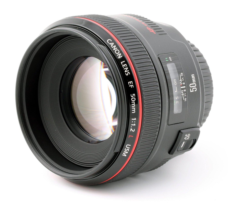 Canon EF 50mm/1:1,2 L USM Objektiv