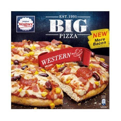 Wagner Big Pizza Amerikanische Art oder Die Backfrische - 2 + 1 Gratis