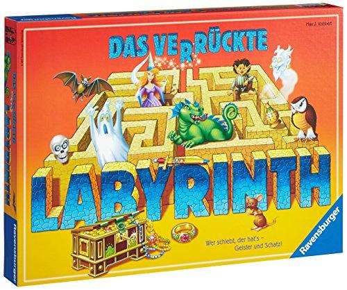 Das verrückte Labyrinth für 11,09€ & Das verrückte Labyrinth Jubiläums-Version für 15,12€ [Amazon Prime]