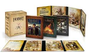 Der Hobbit Extended Edition Trilogie Sammleredition (Bluray)