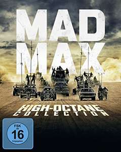 Mad Max 1-4 Boxset High Octane Edition (Bluray)