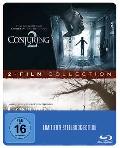 Conjuring 1 + 2 Steelbook (exklusiv bei Amazon.de) (Blu-ray - Limited Edition) für 8,97€
