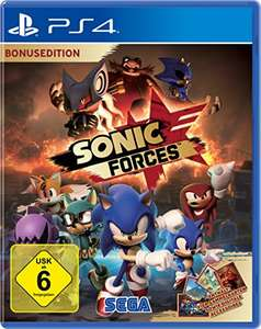 [amazon.de] Sonic Forces - Day One Edition (PS4) - Exklusiv für Primekunden