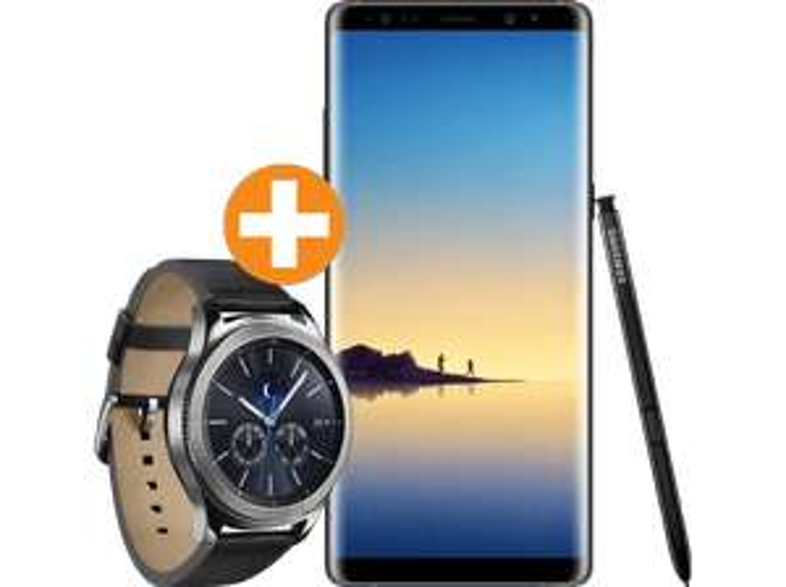 SAMSUNG Galaxy Note Dual-SIM + Smartwatch Gear S3 Classic