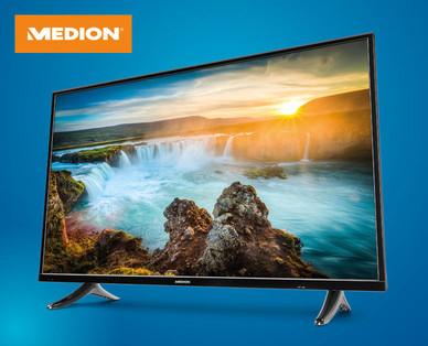 """[Hofer] MEDION 49"""" Ultra HD Smart-TV mit LED-Backlight Technologie ab 11.01.18"""