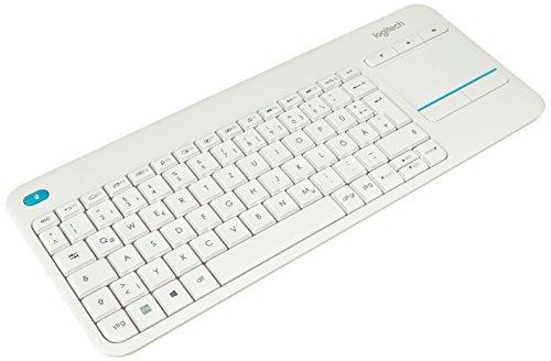 """Logitech """"K400 Plus"""" Touch Wireless Tastatur um 17 € - 48%"""