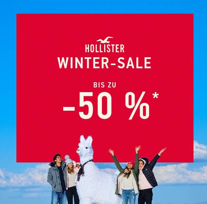 Hollister Winter Sale bis zu -50 %
