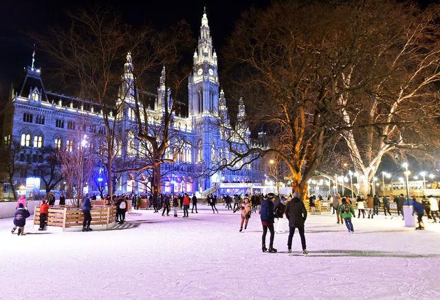 Wiener Eistraum - Eröffnung am 19. Jänner mit Gratis-Eislaufen von 17 bis 22 Uhr