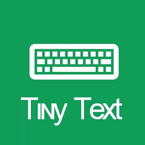 [Android] Tɪɴʏ Tᴇxᴛ Keyboard für 0€ anstatt 0,59€