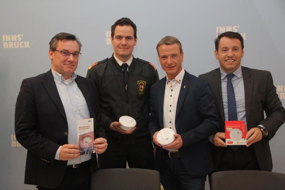 Stadt Innsbruck verteilt kostenlos Rauchmelder
