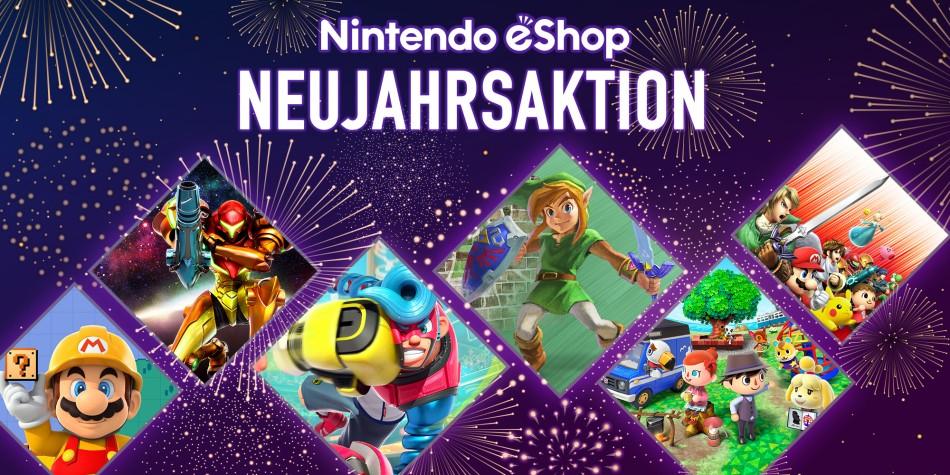 [eShop] Nintendo eShop Neujahrsaktion