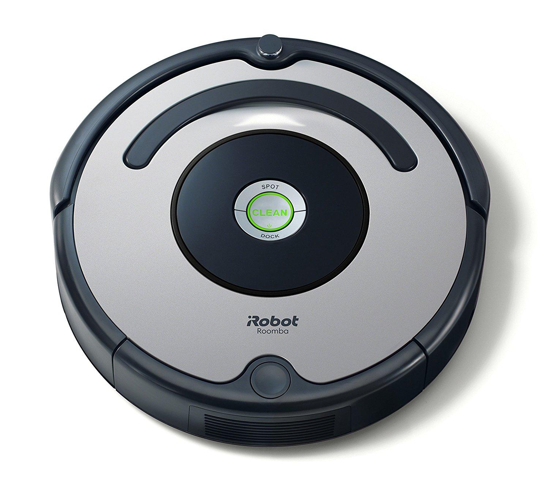 Amazon iRobot Roomba 615 Saugroboter (hohe Reinigungsleistung, für alle Böden, geeignet bei Tierhaaren) grau/schwarz 146,70 Euro