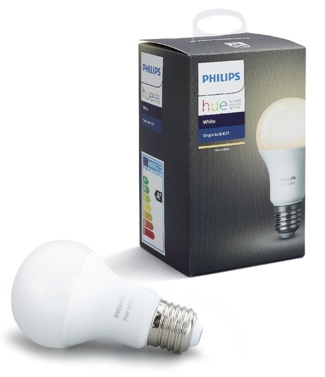 Philips Hue White E27 LED Lampe